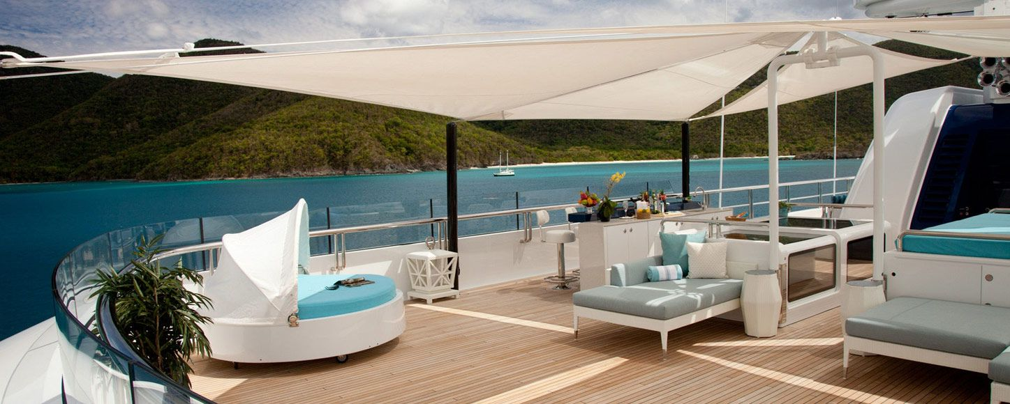 Expedition yacht charter Polar Star deck