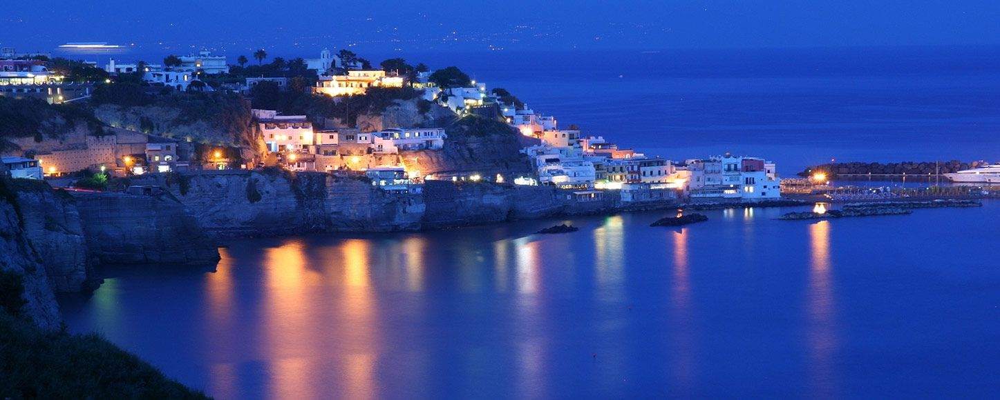 Ischia Island in the Gulf of Naples, Italy