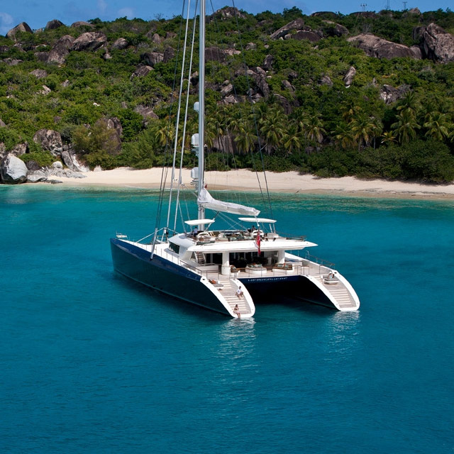 Luxury Catamaran Yachts