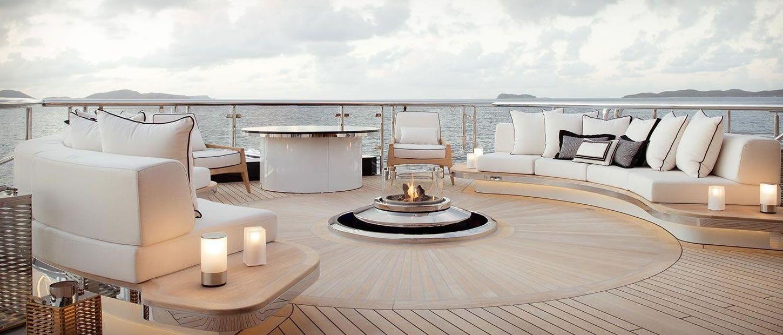 Mega Yachts Yacht Charter Fleet Luxury Interior Design