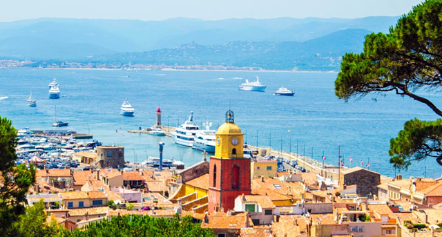 St Tropez Yachts & Churches