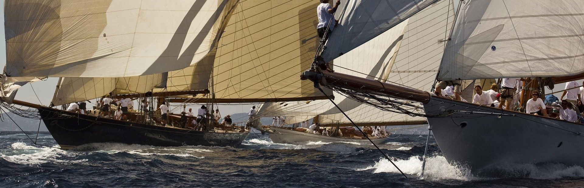 Yacht regatta with Sailing yacht Elena